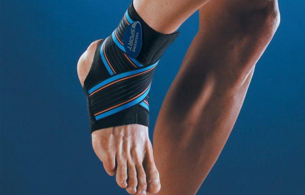 Sport enkelbrace met elastische banden